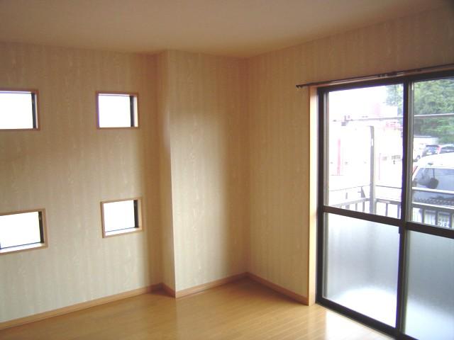 デザインクロスのリフォーム事例(さいたま市大宮区三橋 賃貸1Kアパート)