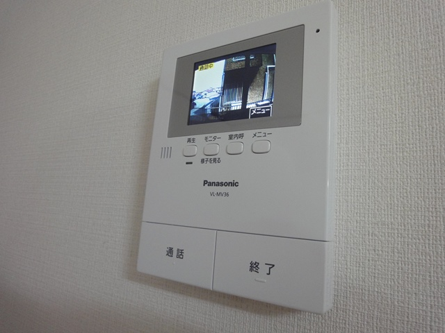 テレビモニターホンの新設工事(さいたま市北区土呂町の2DKアパート)
